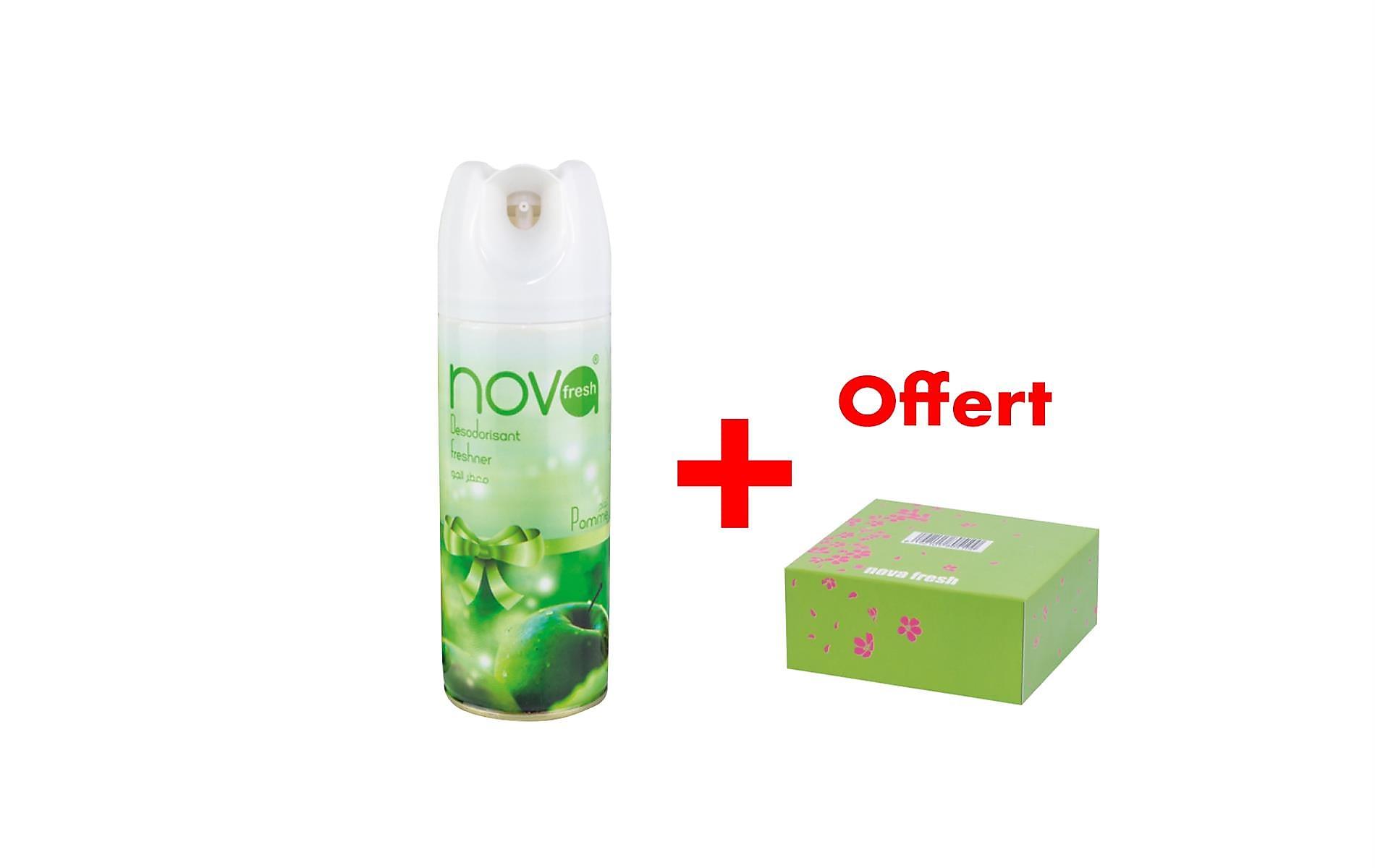 Nova Fresh acheté = distributeur papier offert